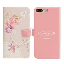 [Happymori] Bird Charm Diary Case (iPhone 7 Plus) - Moromall