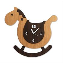 Swing Handcrafted horse Non Ticking Silent Wall Clock - Moromall