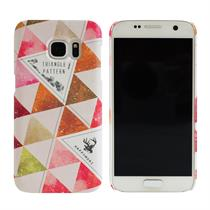 [Happymori] Triangle Pattern Hard Case (Galaxy S7) - Moromall