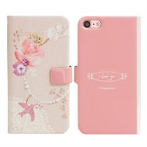 [Happymori] Bird Charm Diary Case (iphone 7) - Moromall