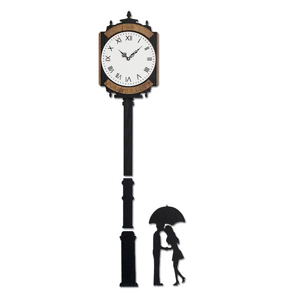 Clock Tower Handcrafted Non Ticking Silent Wall Clock