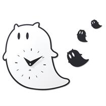 Ghost Handcrafted Non Ticking Silent Wall Clock - Moromall
