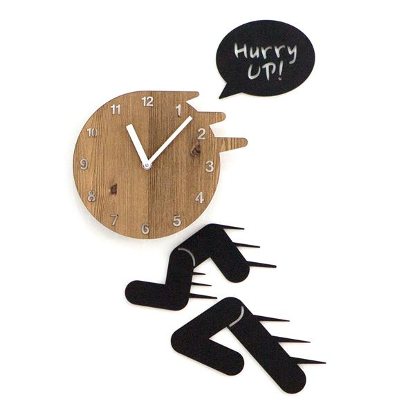 Hurry Up Non Ticking Silent Wall Clock