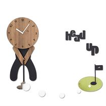 Nice Birdie Handcrafted Non Ticking Silent Wall Clock - Moromall