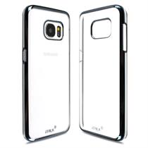 iTalk [Slim Fit] Metal Clear [Shining Edge] For Galaxy S7 - Moromall