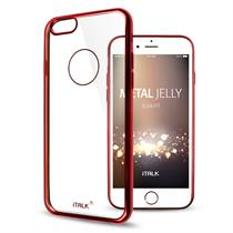 iTALK Metal Jelly Case for Samsung Galaxy S7  Super Slim and Crystal Clear Metallic line case - Moromall
