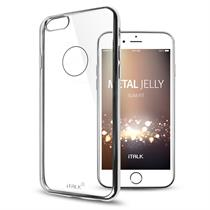 iTALK Metal Jelly Case for iPhone 7. Super Slim and Crystal Clear Metallic line case - Moromall