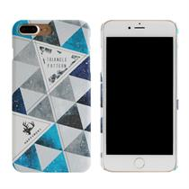 [Happymori] Triangle Pattern Hard Case (iPhone 7 Plus) - Moromall